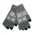 Перчатки Gloves Touchscreen Темно-Серые