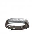 Браслет Jawbone UP3 Gray leather and silver (Серебристый с кожаным ремешком)