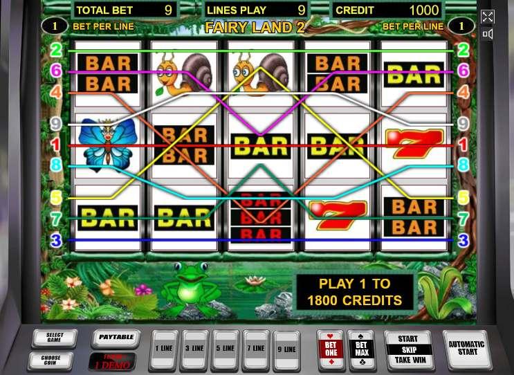скачать игровой автомат Fairy Land